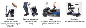 orthos - scooter TRANSFORMER vantagens